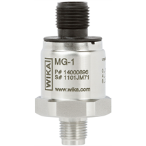 WIKA MG-1 pressure transmitter for safe application with medical gases